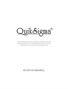QuikSigma Textbook