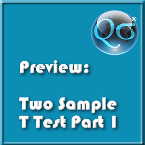 Two Sample T Test Part 1