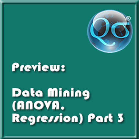 Data Mining (ANOVA Regression) Part 3