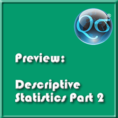 Descriptive Statistics Part 2