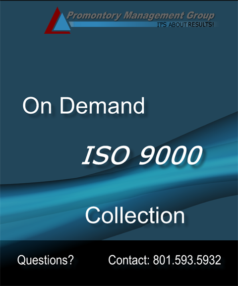 ISO9000 Complete Package